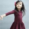 pink ideal ชุดเดรสสาวน้อย สไตล์เกาหลี