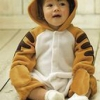 ชุดหมีแฟนซี ผ้าสำลีขูดขน ลายเสือน้อย น่ารัก เนื้อนุ่มใส่สบาย