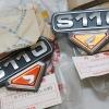 โลโก้ ฝากระเป๋า แท้ใหม่ Honda S110 Sport L/R