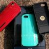เคส Iphone5 เคสไอโฟน5 เคสแบบฝาหลังสีสัดสดใส สีแดง