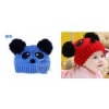 หมวกรูปหมีแพนด้า สีฟ้าน่ารักสไตล์เกาหลี