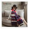PR106 ผ้าพันคอแฟชั่น ผ้าคลุมไหล ลายสวย เก๋ งานดี ผ้าไหมพรม ขนาด 190*65 ซม.