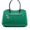 กระเป๋าถือขนาดพกพาสไตล์เกาหลี-เขียว