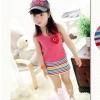 ชุดเดรสหัวใจplayสีชมพูน่ารักค่ะ สไตล์เด็กเกาหลี ขนาด 11
