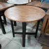 โต๊ะไม้ท็อปวงกลม