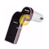 USB Car Charger+Bluetooth 'G7' Pink