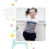 ชุดเซ็ทเด็กหญิง มาใหม่ สไตล์เกาหลี เสื้อ+กางเกง แบบเก๋ น่ารัก ผ้า เนื้อนุ่ม ใส่สบาย ขนาด120,140