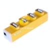 4 Port USB HUB 'GTECH' (GTH307) คละสี