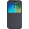 เคสฝาพับ Samsung E5 วัสดุเกรดพรีเมี่ยม สไตล์เรียบหรู (สีดำ)