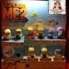 2013 McDonald's แมคโดนัลด์ ของเล่น ของสะสม Happy Meal : Despicable ME2 มิสเตอร์แสบ ร้ายเกินพิกัด 2 อยู่ในแพ็คจากร้านค่ะ MIP