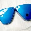 ฝากระเป๋า A100 A80 สีน้ำเงิน เทียม งานใหม่