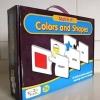 จิ๊กซอว์จับคู่คำศัพท์ Match It! Colors and Shapes