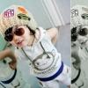หมวกหมวกไหมพรมเด็กติดแบรนด์เนอร์ NFL น่ารักสไตล์เกาหลี