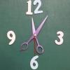 ชุดตัวเครื่องนาฬิกาญื่ปุนเดินเรียบ เข็มลายกรรไกร ขนาดกลาง เข็มสั้น-เข็มยาวสีม่วง เข็มวินาทีสีแดง อุปกรณ์ DIY