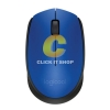 Logitech Mouse Wireless รุ่น M171 (Blue/Black)