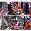 กระเป๋าผ้าอุ้มเด็กม้ง HB 374 /Embroidered Ethnic Hmong baby carrier Fabric HB 374