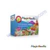 Magic Nuudles® ตัวต่อทำจากแป้งข้าวโพด ธรรมชาติที่ดีที่สุด ขนาด 220 ชิ้น ต่อกล่อง