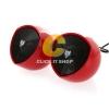 Speaker NUBWO SHIELD (NS004) Red