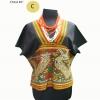 เสื้อผ้าซิ่นตีนจก ผ้าฝ้ายจากลาว  HSS 005 C / Handmade Cotton Shirt HSS 005 C