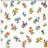 แนวภาพเล็กๆกระจาย ดอกไม้หวานๆ กระดาษแนพกิ้นสำหรับทำงาน เดคูพาจ Decoupage Paper Napkins ภาพกระจายเต็มแผ่น ขนาด 25X25 ซม