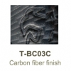 Carbon fiber finish BC03C