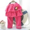 กางเกงเกระโปรงเด็ก 2 ชั้น สีชมพู น่ารัก สไตล์เกาหลี ผ้าหนา (สำหรับเด็กอายุ 6 เดือน-4 ขวบ)