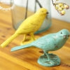 Pre-Order นกตกแต่ง Zakka มีสีเหลือง กับเขียว