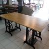 โต๊ะขาจักรคู่