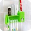 GK100 ที่แขวนแปรงสีฟัน พร้อมที่แขวนบีบยาสีฟัน