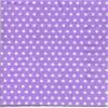 แนวภาพลายแต่ง จุดขาวเล็กบนพื้นม่วง ภาพโทนสีม่วง เป็นภาพกระจายเต็มแผ่น กระดาษแนพกิ้นสำหรับทำงาน เดคูพาจ Decoupage Paper Napkins ขนาด 33X33cm