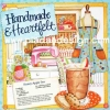 กระดาษอาร์ทพิมพ์ลาย สำหรับทำงาน เดคูพาจ Decoupage : Cooking Series - Honey-Apple Tea