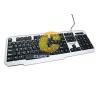 Keyboard Backlight Gaming TECFON รุ่น SX-031