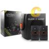 Speaker NUBWO Spyder 2.1 CH w/Remote/FM+USB