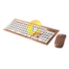 Keyboard+Mouse OKER (KM-2068) Gold