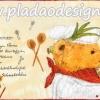กระดาษสาพิมพ์ลาย rice paper สำหรับทำงาน handmade เดคูพาจ Decoupage แนวภาพ หมี เท็ดดี้ แบร์Teddy bear หมีพ่อครัว ในชุดกุ๊ก พร้อมสูตรอาหาร บนพื้นครีม (ปลาดาวดีไซน์)