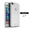 iPaky case 360 degree case iPhone 7 -Silver
