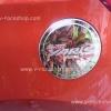ครอบฝาถังน้ำมันโครเมี่ยม New Yaris 2014 logoแดง