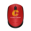 Logitech Mouse Wireless รุ่น M171 (Red/Black)