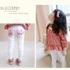 กางเกงแฟชั่นเด็กหญิงมาใหม่ สไตล์เกาหลี สีขาว