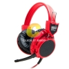 HEADSET SIGNO HP-802 (RED)