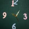 ชุดตัวเครื่องนาฬิกาญื่ปุนเดินเรียบ เข็มลายโมเดิน ขนาดกลาง เข็มสั้น-เข็มยาวสีทอง เข็มวินาทีสีแดง อุปกรณ์ DIY