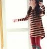 ชุดเซตเด็กหญิง 2 ชิ้น เสื้อ+กางเกง ผ้าเนื้อดีน่ารักสไตล์เกาหลี