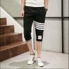 กางเกงขาสั้น3ส่วน JOGGER BLACK/WHITE STRIPED