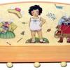 หิ้ง ชั้น ที่แขวนของติดผนัง Paperdoll แต่งตัวตุ๊กตา สาวน้อยคาวยอย