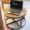 โต๊ะกลางขาเหล็ก