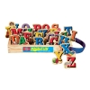 Magnet ไม้ ABC แบรนด์ T.S. Shure (T.S. Shure Alphabet Letters Wooden Magnets 26 Piece)