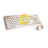 Keyboard Wireless OKER (T26) Gold