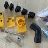 Jig เจาะเอียงตัวเล็ก รู 9 mm ต่อท่อดูดฝุ่นได้
