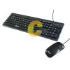Keyboard+Mouse OKER (KM-2068) Black