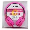 หูฟัง OKER รุ่น SM-952 (สีชมพู)